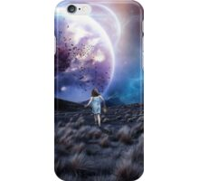 Lost in a space that isn't there iPhone Case/Skin