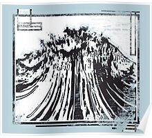 Raging Torrent Of Waves // Atomic Bomb  Poster