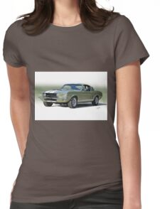1967 Mustang 'Shelby GT 500' Womens Fitted T-Shirt