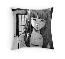aiko Throw Pillow
