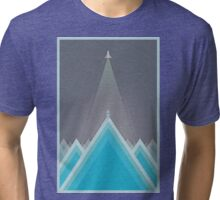 Space Man Blue  Tri-blend T-Shirt