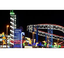 Pleasure Beach Photographic Print