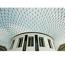 british museum courtyard Photographic Print