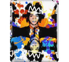 Basquiat Army iPad Case/Skin