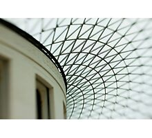 british museum roof Photographic Print
