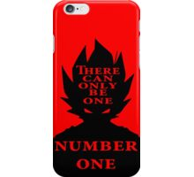 Number One iPhone Case/Skin