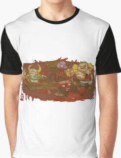 Dota 2 History Pudge Graphic T-Shirt