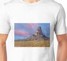 Sunset on Agathla Peak Unisex T-Shirt