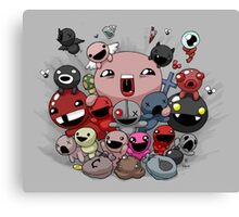 Binding of Isaac Family  Canvas Print