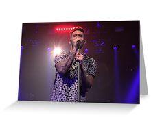 Adam Levine - Maroon 5 Greeting Card