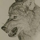 angry wolf by aiste chapman