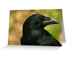 Raven, totem bird ... Greeting Card