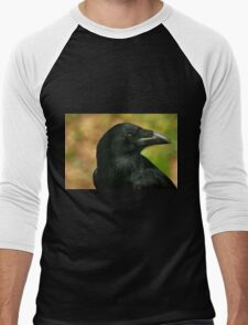 Raven, totem bird ... Men's Baseball ¾ T-Shirt
