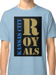 Kansas City Royals typography Classic T-Shirt