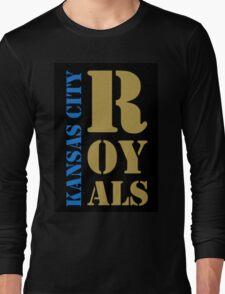 Kansas City Royals typography Long Sleeve T-Shirt