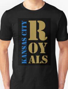 Kansas City Royals typography Unisex T-Shirt