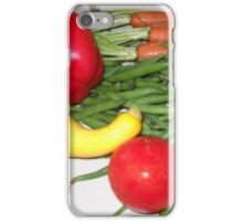 Tomato Squash and Green Beans iPhone Case/Skin
