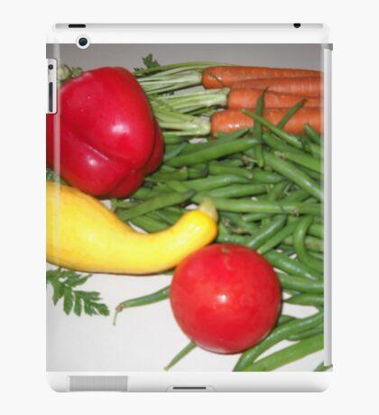 Tomato Squash and Green Beans iPad Case/Skin