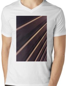 Spiral Lines : abstract Mens V-Neck T-Shirt