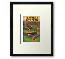 Genuine Dogs Framed Print