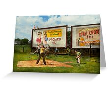 Sport - Baseball - America's past time 1943 Greeting Card