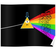 The dark side of Gravity falls  Poster