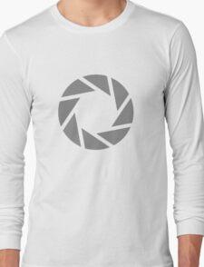 Portal Aperture Long Sleeve T-Shirt