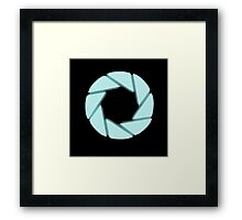 Portal Aperture Framed Print