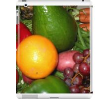Fruit and Vegetable Collage 6 iPad Case/Skin