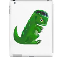 Dino camper with no background iPad Case/Skin