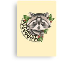 Raccoon Canvas Print