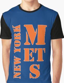 New York Mets Typo Graphic T-Shirt