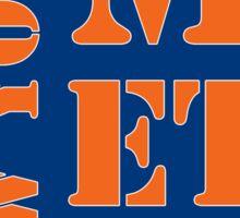 New York Mets Typo Sticker