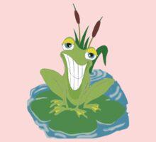 Cute Smiling Frog Kids Tee
