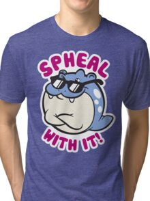 Spheal With It Tri-blend T-Shirt