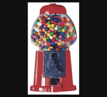 Retro Gum ball machine red One Piece - Long Sleeve