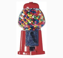 Retro Gum ball machine red Baby Tee