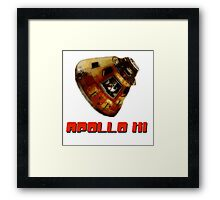 Apollo XI Capsule Framed Print