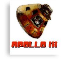 Apollo XI Capsule Canvas Print