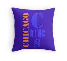 Chicago Cubs 1 Throw Pillow