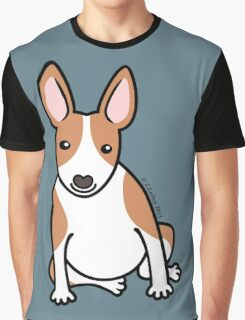 English Bull Terrier Puppy Dog ... brown & white Graphic T-Shirt