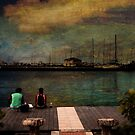 On The Dock by Russell Fry