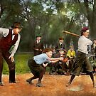 Sport - Baseball - Strike one 1921 by Mike  Savad