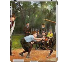 Sport - Baseball - Strike one 1921 iPad Case/Skin