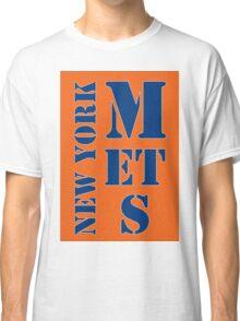 New York Mets Typo Classic T-Shirt