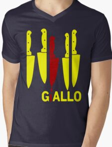 Giallo Mens V-Neck T-Shirt