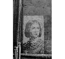 Joan of Arc Graffiti  Photographic Print