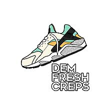 Dem Fresh Creps Photographic Print