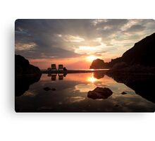 Incredible Sunset - Travel Photography  Canvas Print