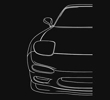 rx7 fd outline - white Unisex T-Shirt